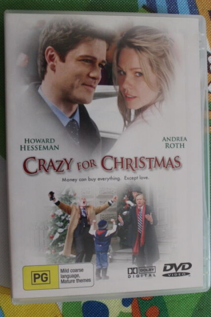 Crazy For Christmas.Crazy For Christmas Howard Hesseman Andrea Roth Dvd R4 Very Good