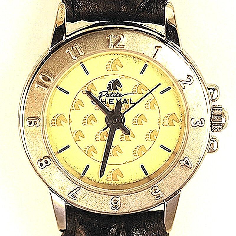 Cheval Petite gold Tone Lady Water Resistant, Unworn, Battery Quartz Watch  88