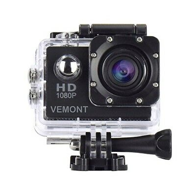 Foto & Camcorder Genossenschaft Action Camera 1080p 12mp Sports Camera Underwater Waterproof 30m/98ft 2.00 Inch