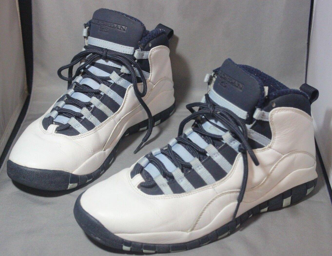 Der nike air jordan x 10 Weiß, retro 310805 141 Weiß, 10 die von obsidian ice Blau - 9 182156