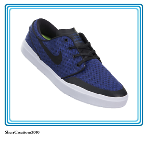 New Nike Stefan Janoski Hyperfeel XT 855922-500 Men's SB Shoe Blue #17909-468