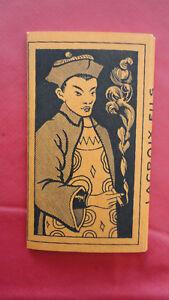 ANCIEN PAQUET DE FEUILLES A CIGARETTES ROLLING PAPER RIZ LACROIX CHINE N°2 cM4OddkP-09153308-213102824