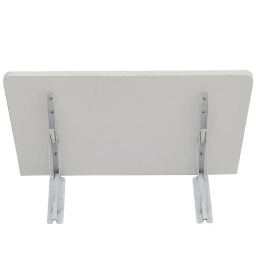 Wall Table Fold Down Desk Wall Mounted Book Laptop Desk Dining Kitchen MDF White