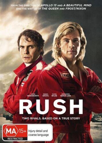 1 of 1 -  RUSH...CHRIS HEMSWORTH...REG 4...NEW & SEALED