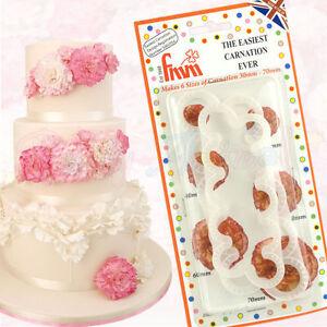 FMM-Sugarcraft-The-Easiest-Carnation-Cutter-Set-of-2-Sugar-Flower-Decoration