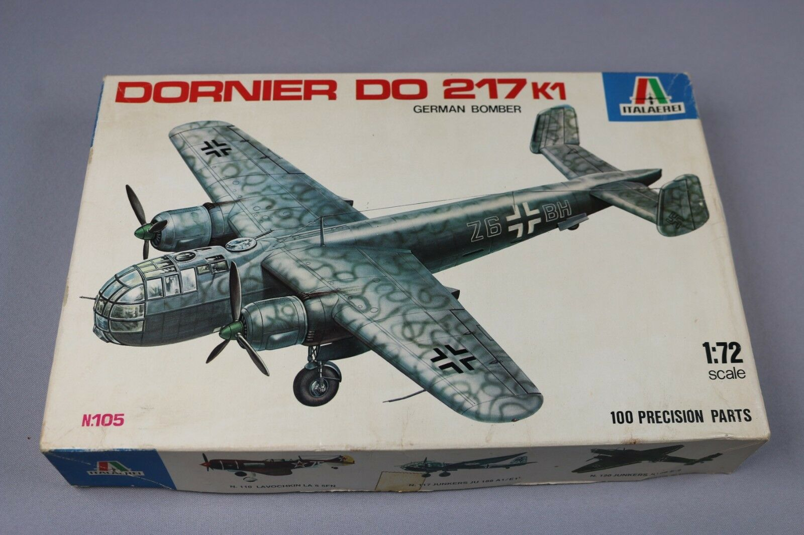 ZF441 Italeri Italaerei 1 72 maquette avion N.105 N.105 N.105 DORNIER DO 217 K1 german bombe a98e79