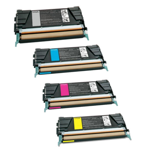 Lexmark C734A1KG C734A1YG C734A1CG C734A1MG 8K//6K Toner Set OEM Quality