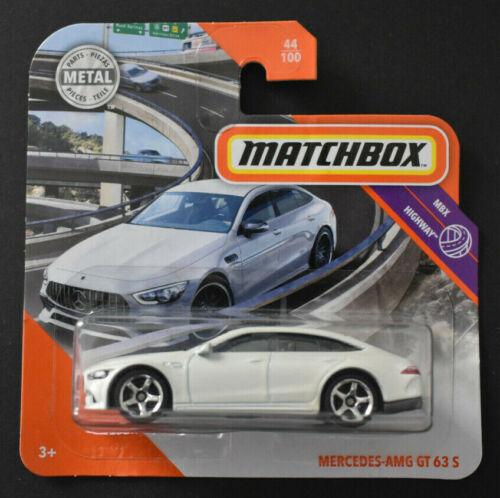 MATCHBOX 2020 MERCEDES AMG GT 63 S MBX HIGHWAY NEU /& OVP