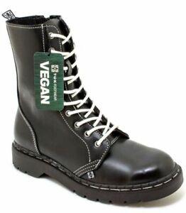 T.U.K A9757 10 Eye 1991 Boot Matt Black