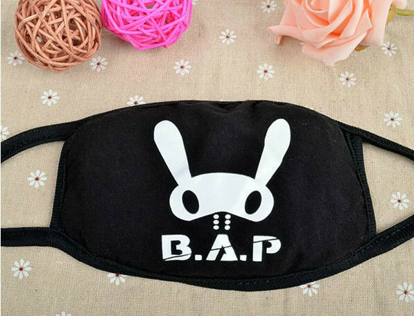 B.A.P BAP MATOKI MOUTH MASK COTTON LIVE ON EARTH NEW KPOP
