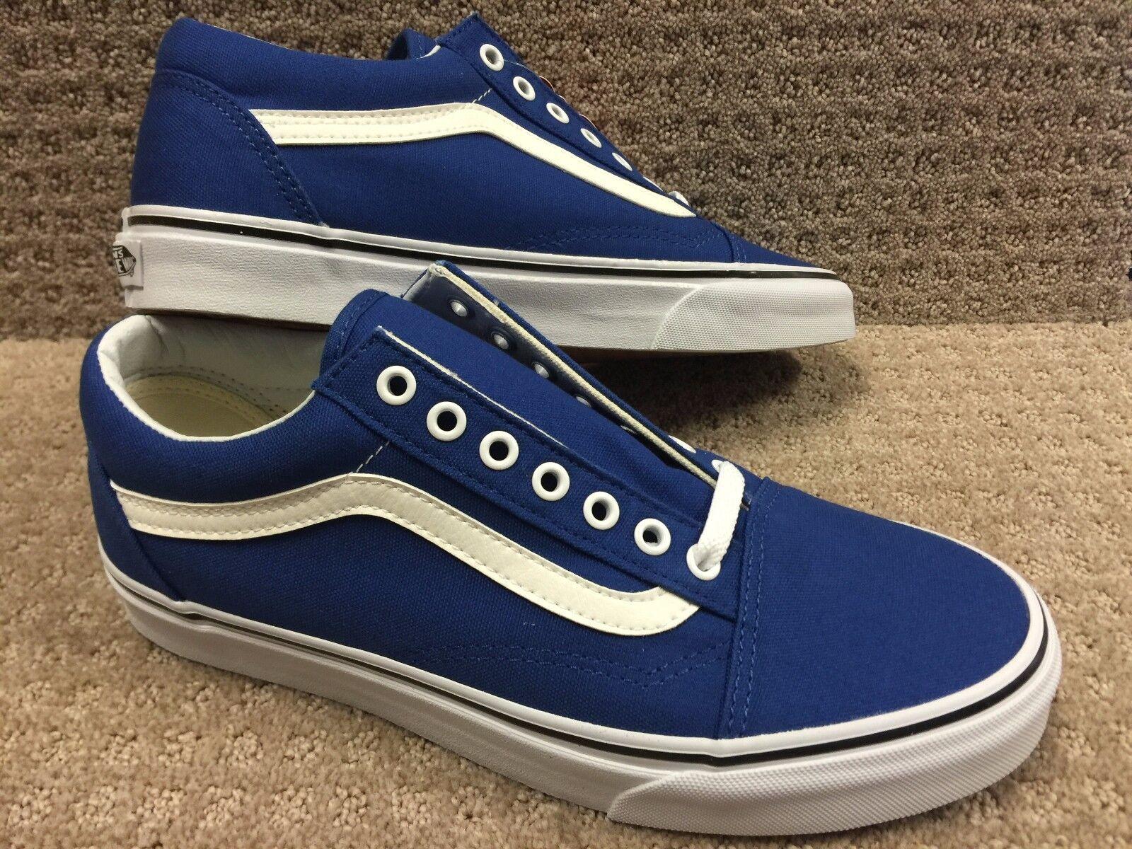 Vans Men's shoes's  Old Skool  -- (Canvas) True bluee