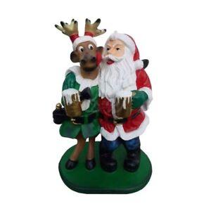 Dekofigur Weihnachtsmann NEU Weihnachtsfigur Advent xmas Landhaus