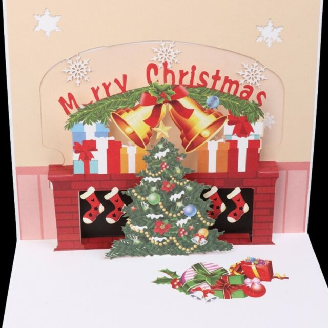 Handmade 3d pop up year holiday greeting cards merry christmas xmas handmade 3d pop up new year holiday greeting cards merry christmas xmas tree m4hsunfo