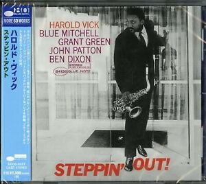 HAROLD-VICK-STEPPIN-039-OUT-JAPAN-CD-Ltd-Ed-C41