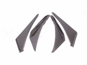 Carbon fiber racing front canard wing fit for Lotus Exige S2