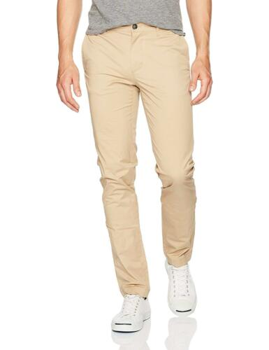 Color Lacoste Men/'s Slim Fit Stretch Cotton Twill Pant Macaroon   MSRP 125 $