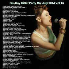 Blu-ray Promo, Hi-Def Party Mix Vol.13 July 2014, 40+ Top HD Videos, Dance ONLY!