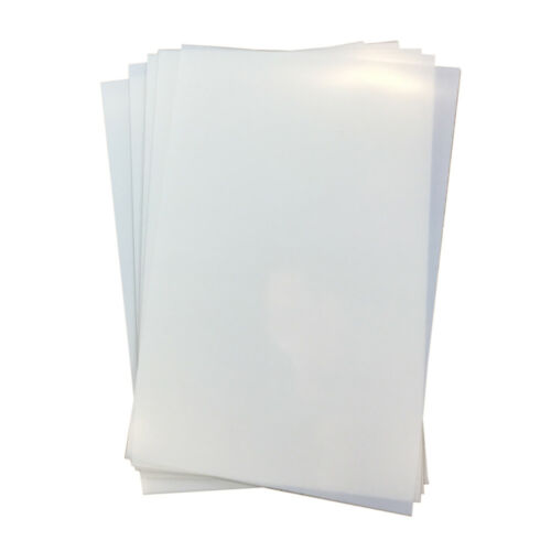 """USA 50 Sheets 8.5/"""" x 11/"""" Waterproof Inkjet Transparency Film for Screen Printing"""