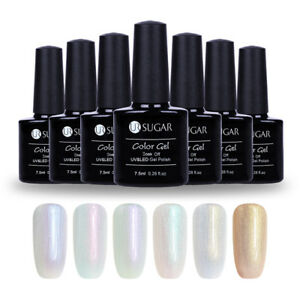 UR-SUGAR-7-5ml-Schale-Perle-Soak-Off-UV-Gellack-Chamaeleon-Gel-Polish-Nail-Art