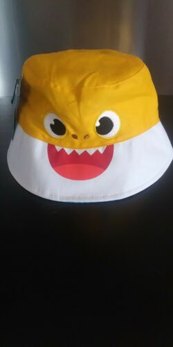 BABY SHARK TODDLER REVERSIBLE ONE SIZE BUCKET HAT NWT