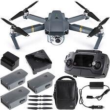DJI Mavic Pro Quadcopter Drone Combo Pack with 4K Camera  4 Battery Bundle