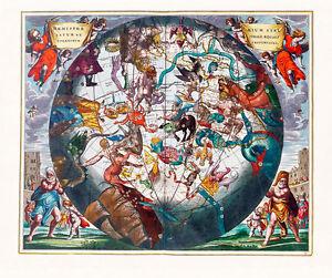 Celestial Harmonia Plate 29 A2+ High Quality Canvas or Art Paper Art Print