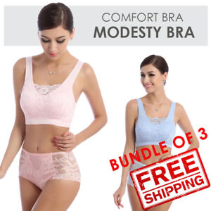1c5b945028c79 SOL bundle of 3. Genie Modesty milana comfort bra 2.2 - Light purple ...