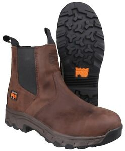 4f168b1c5ad Details about Timberland Pro Workstead Dealer Safety Boots Mens Industrial  Waterproof Work