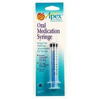 Apex Oral Medication Syringe 1 Ea (pack Of 8)
