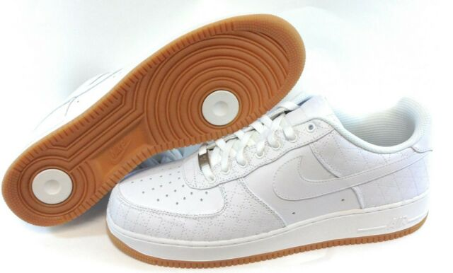Details about Nike Air Max 1 Leather PA Ostrich White Gum 705007 111 Men's Sneakers Sz 10