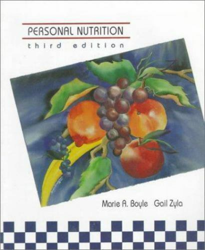 Personal Nutrition by Marie A. Boyle; Gail Zyla