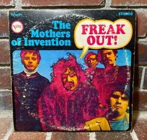 The Mothers Of Invention Freak Out Frank Zappa Verve