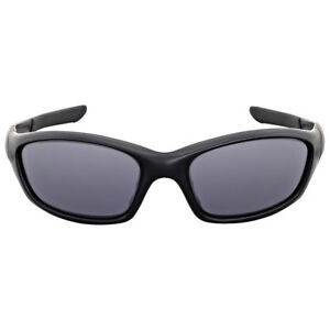 16df565cd Vintage Oakley Straight Jacket Matte Black Grey Sunglasses Authentic ...
