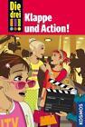Die drei !!! 54. Klappe und Action! (drei Ausrufezeichen) von Mira Sol (2015, Gebundene Ausgabe)