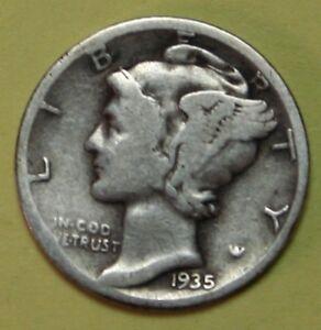 US-Mercury-silver-Dimes-Price-per-Each-Coin-1935-D-1936-D-1937-D-CHECK-Inv