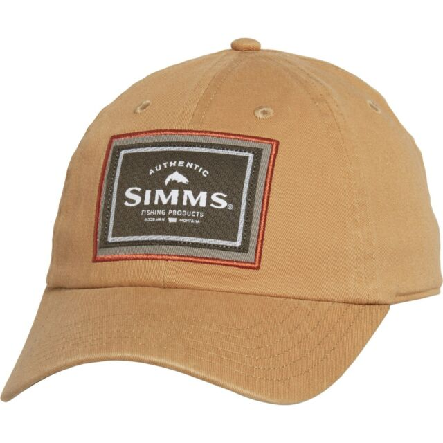 55280e454 Simms Fly Fishing Single Haul Touch Fasten Strap Hat Cap - Choose Color -  NEW!