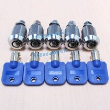 5 Pcs/lot Arcade, Pinball Machine Cabinet Door Atom Lock + 5 keys