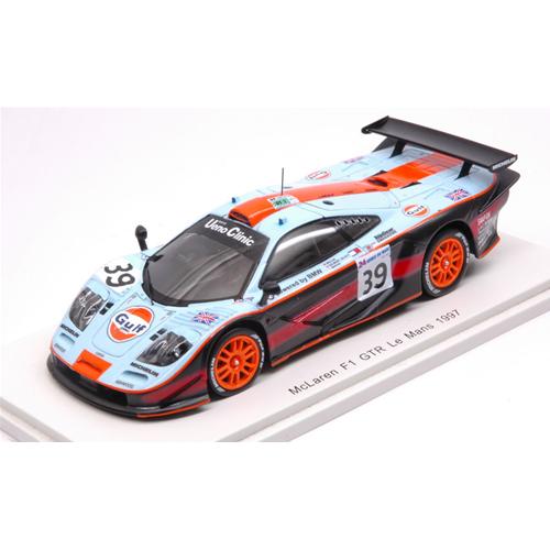 MC LAREN F1 GTR N.39 DNF LE MANS 1997 R.BELLM-A.GILBERT SCOTT-M.SEKIYA 1:43