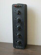 Vintage Genrad 1432 M Decade Resistor0 111111 Ohm1 Ohm Stepsusedgen Rad