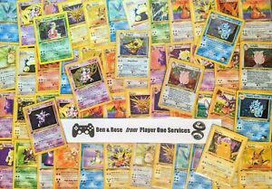 1ST-EDITION-RANDOM-POKEMON-CARD-Pokemon-Original-Sets-Lot-WOTC