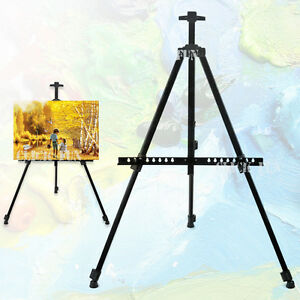 Tripod-Adjustable-Easel-Display-Stand-Drawing-Board-Art-Artist-Sketch-Painting