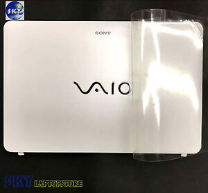 New-Sony-Vaio-SVF152-SVF153-LCD-Back-Cover-3FHK9LHN050-For-TouchScreen-Hinges