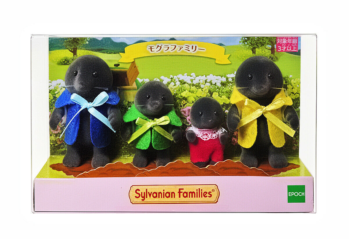 Sylvanian Families Calico Critters Maulwurf Familie