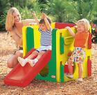 Little Tikes Junior Activity Gym Natural Outdoor Indoor Climbing Frame&slide
