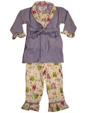 0109d969cbdf Baby Bunz Baby Boys  3 Piece Robot Robe and Pajama Set Black 24 ...