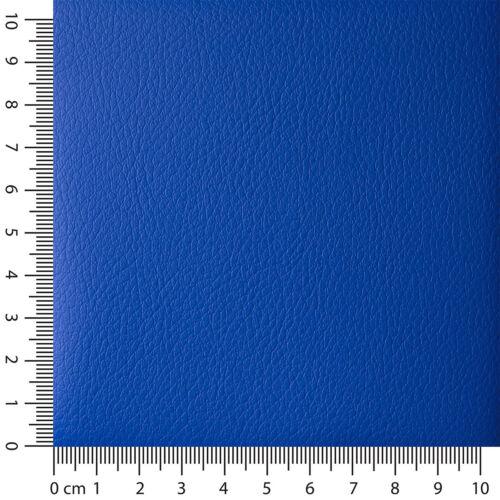 Autokunstleder PVC 710 g//m² DIN 75200 Breite 140cm Enzianblau RAL 5010 Meterwa..