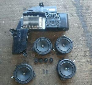 audi a4 b6 b7 s line sport bose speakers x4 amplifier. Black Bedroom Furniture Sets. Home Design Ideas
