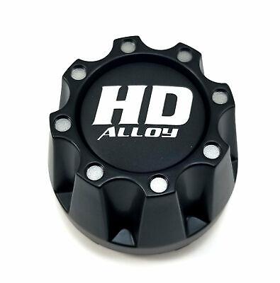 "HD Matte Black Center Cap Snap-In 3.3/"" for 4x110 4x115 HD3 HD4 HD5 HD6 Beadlock"