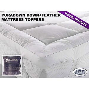 Image Is Loading Puradown Hotel Quality Goose Feather And Down Mattress