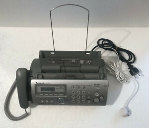 Fax Panasonic KX-FP215JT carta comune - funzione copia - segreteria telefonica